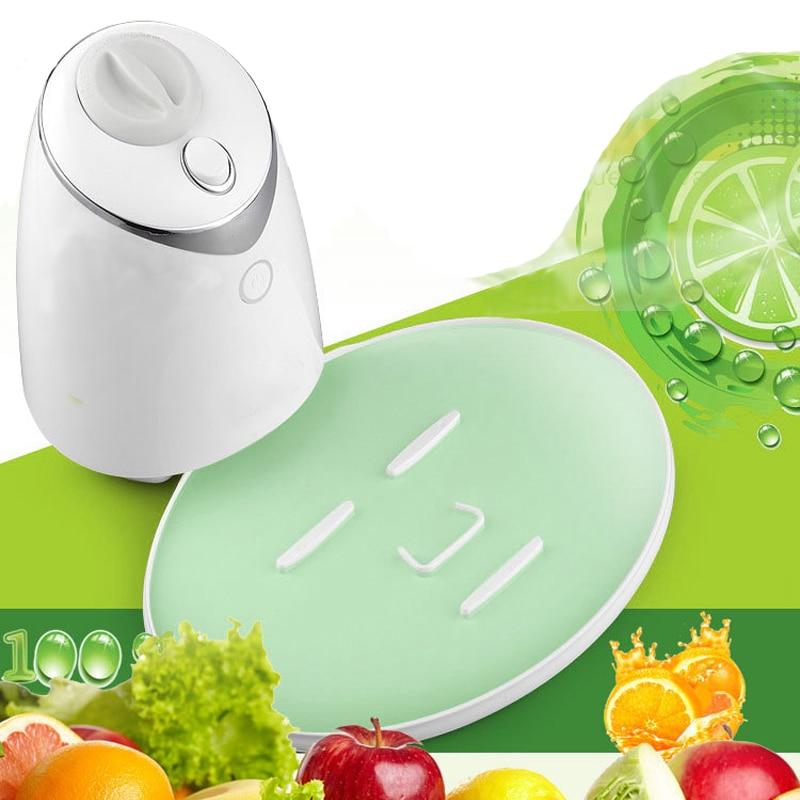 Vegetable or fruit facial mask