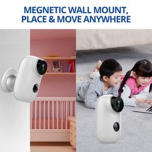 Image 5 - Wetrans cámara IP Wifi para exteriores, minicámara de vigilancia con batería recargable 720P HD CCTV, cámaras de seguridad inalámbricas para el hogar