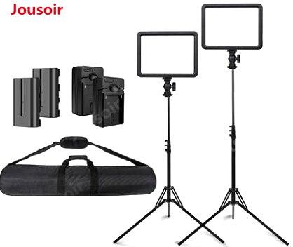 Godox LED 120 костюм SLR лампа для фотосъемки на открытом воздухе фотографии интервью портативный светодиодный плоский как заполняющий свет лампо