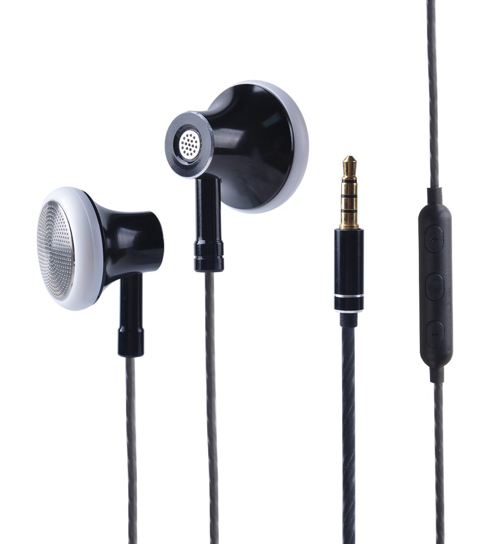 2017 New HEADROOM MS16 In Ear Earphone Earbuds Sports Running Headset With Mic For Phone / PC / Tablet image