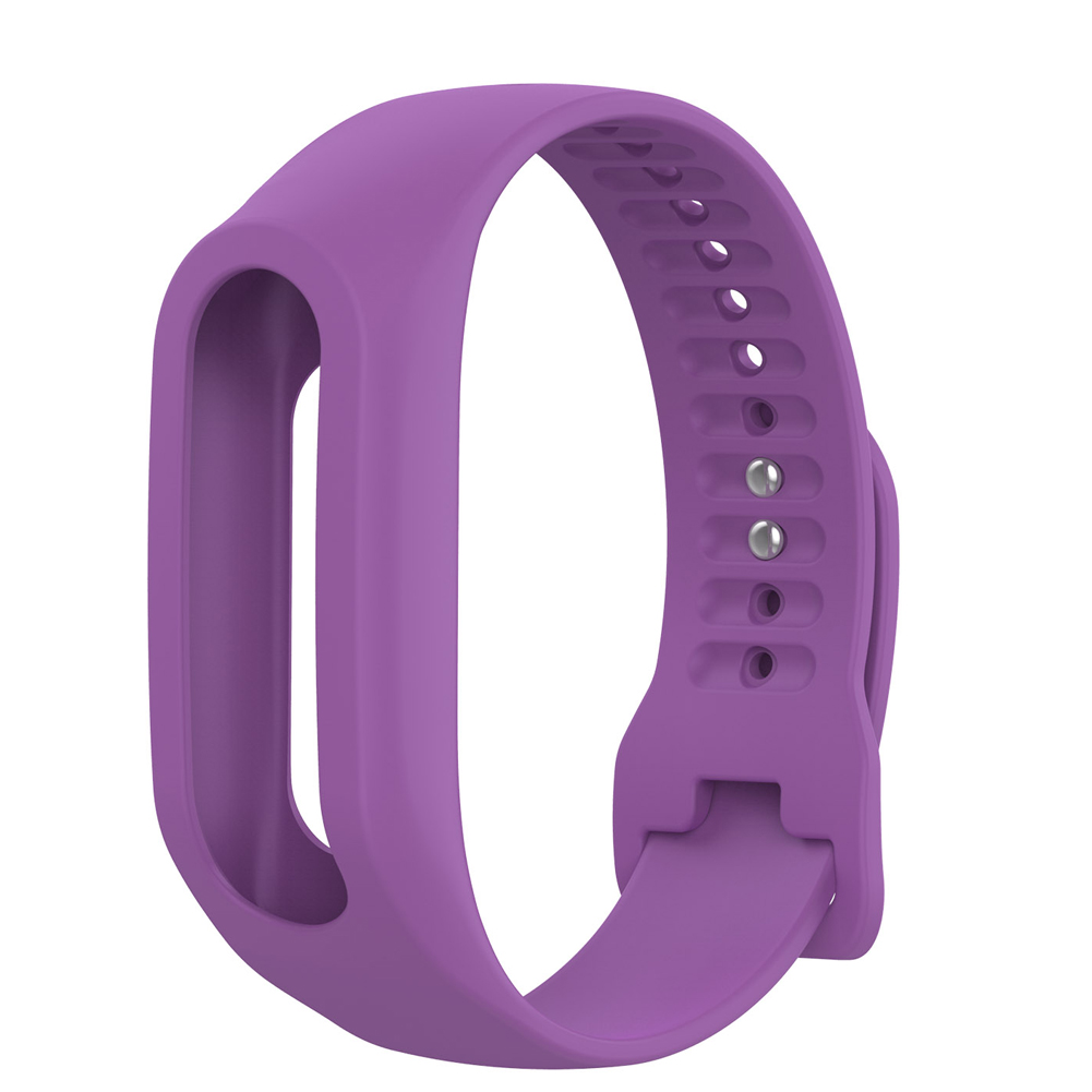 Soft Durable Colorful Strap Wristband Replacement Silicone Watchband Accessories for Tom Tom Touch Fitness Tracker Smart Watch 8