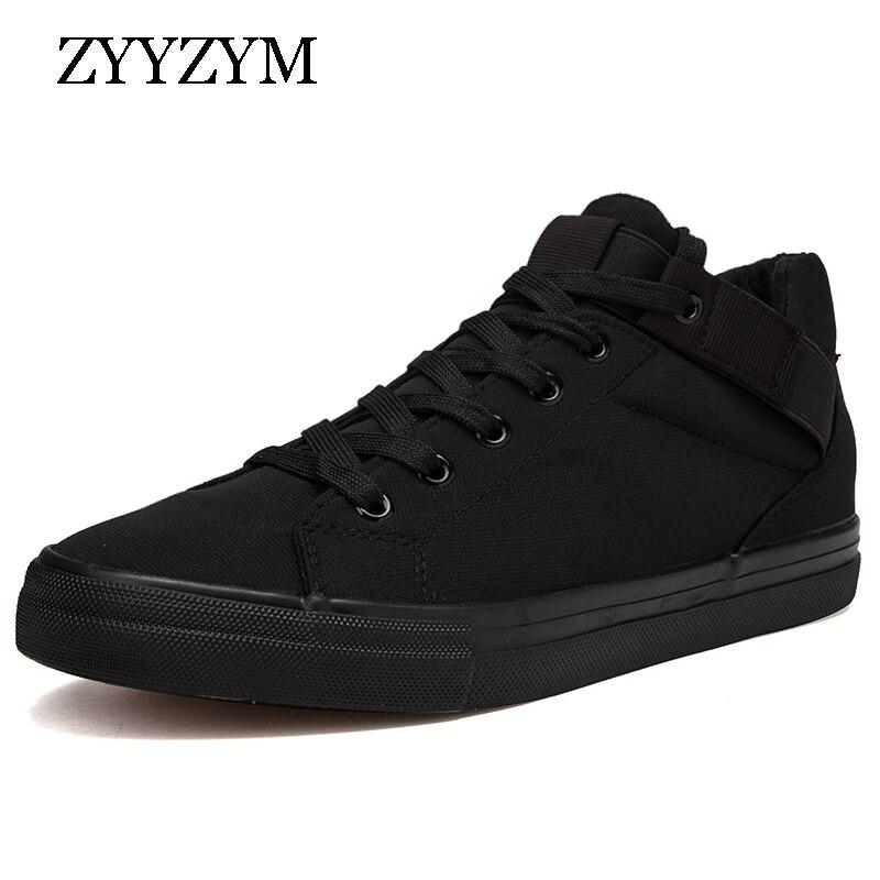 ZYYZYM Men Shoes Spring Autumn Canvas