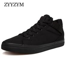 ZYYZYM Men Shoes Spring Autumn New Arrival 2019 Canvas Class