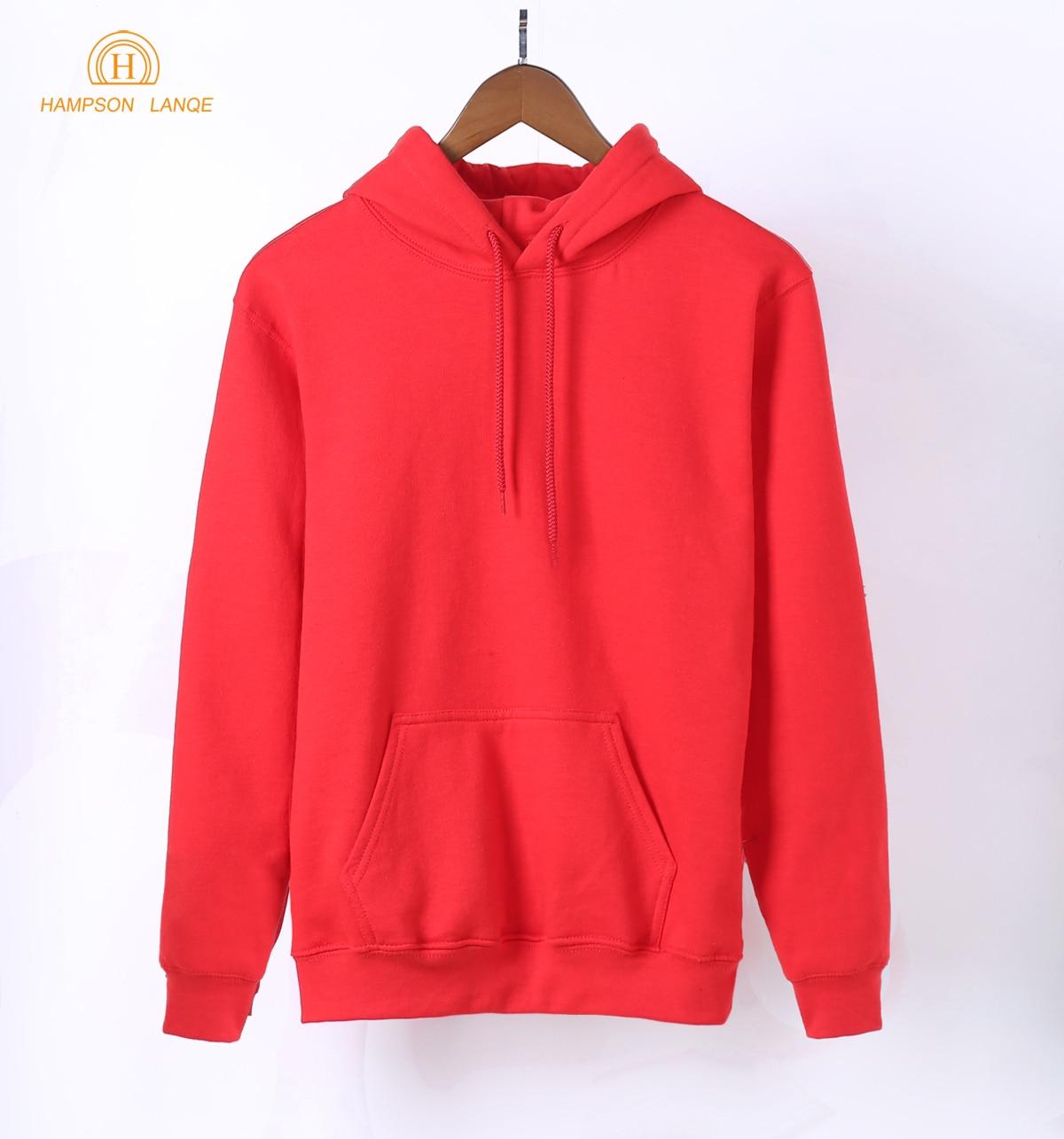 HTB18bP3oHYI8KJjy0Faq6zAiVXaq - 2018 New Arrival Spring Kawaii Women Sweatshirts Kpop Solid Hoodies Warm Fleece Harajuku Hoodie Black White Gray Pink Red Blue