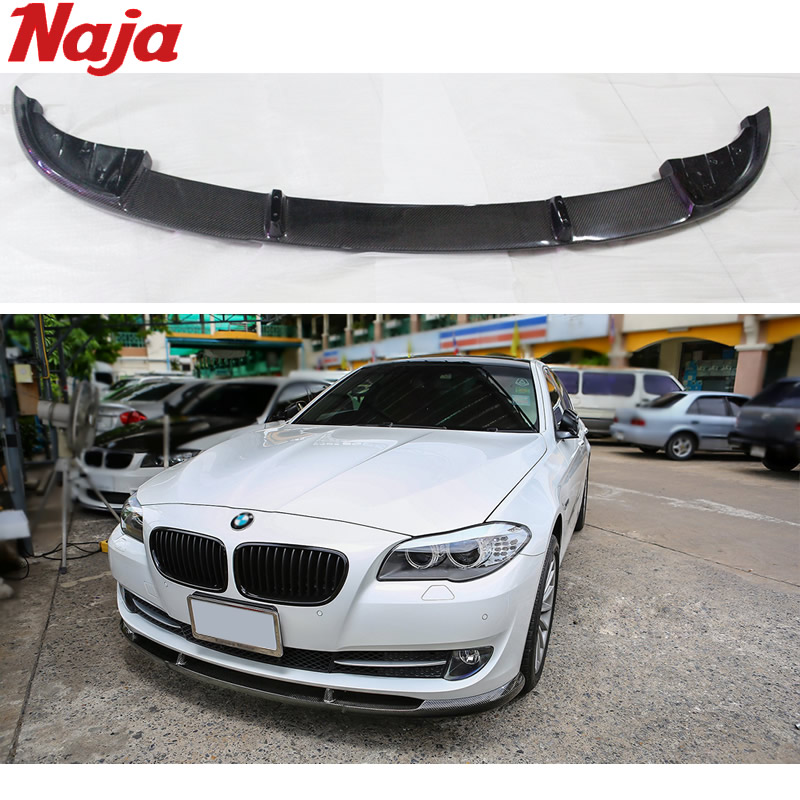 Bmw X6m Hamann Price: Car Styling Carbon Front Lip For BMW F10 F18 HAMANN-in