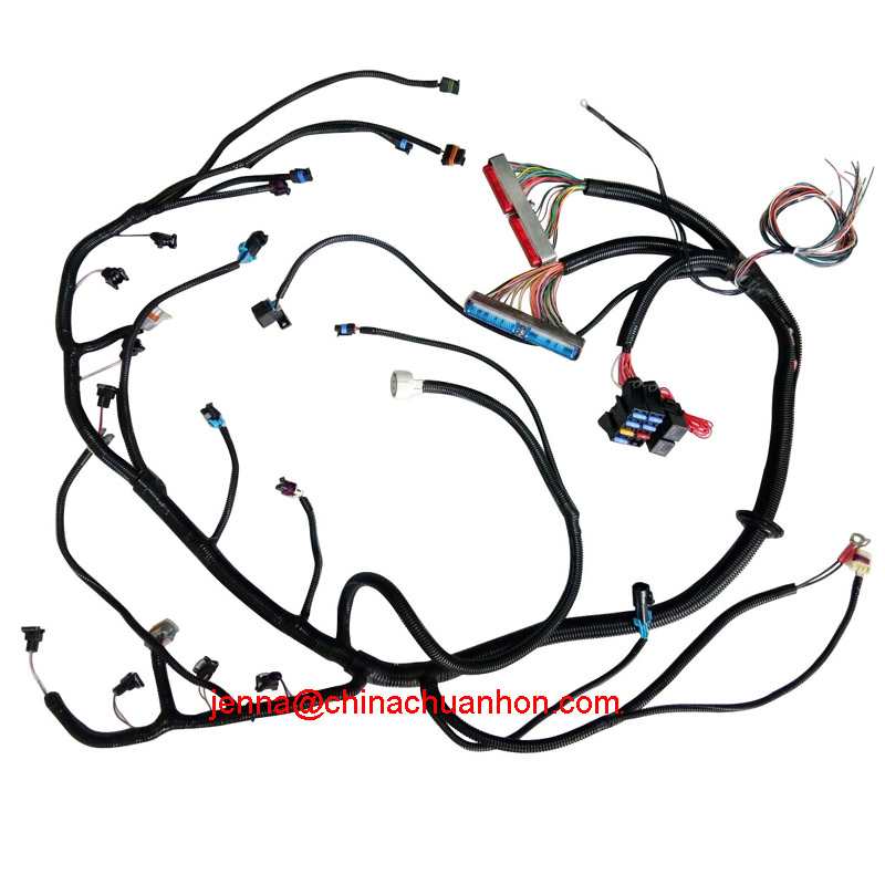 14 Circuit Universal Wire Harness Kits Muscle Car Hot Rod Street Rod