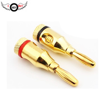 I Key Buy 2PCS/lot  Top-Quality Brand-New Speaker Line Pin Banana Plug Post No Welding Required Gold Connector Free Shipping free shipping 2pcs lot kai 02150 cbagenuine quality assurance