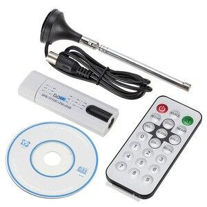 Цифровой спутниковый DVB t2 usb ТВ-тюнер с антенной дистанционного HD ТВ приемник для DVB-T2/DVB-C/FM/DAB USB ТВ-палка бесплатная доставка