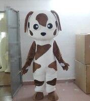 White Spot dog mascot costume fancy dress costume fancy costume cosplay carnival costume for Halloween party event