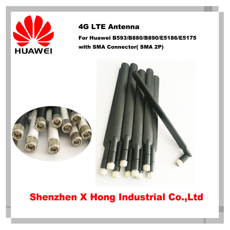 Brand New High Quality 5dBi SMA Male 4G LTE Huawei Router Antenna (2 pcs in one pack) B593 B310 E5186|huawei router|4g lte huawei|lte huawei - title=