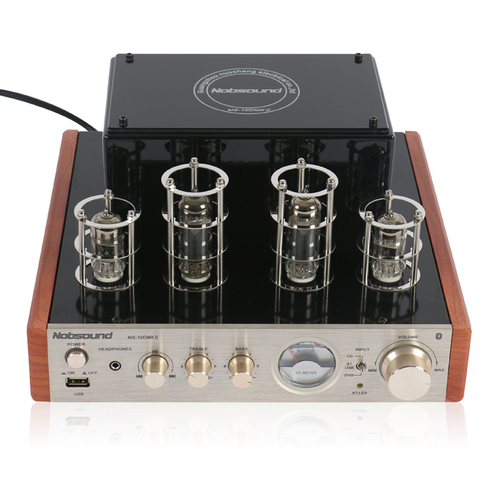 Music hall 2016 NEW Nobsound MS-10D MKII Tube Amplifier Bluetooth Tube Headphone Amplifier USB HiFi 2.0CH Power AMP t a d 10 mkii titan