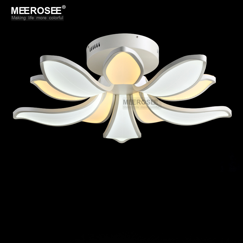 Подробнее о Modern LED Chandelier Light Fixture LED Flower Acrylic Lamp Lustres lamparas de techo Light For Dining Living Room led acrylic chandelier dia 72cm modern chandelier for living room crystal light fixture lustres 110v 220v