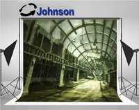 destroyed abandoned building shopping mall photo backdrop Vinyl cloth High quality Computer print wall background