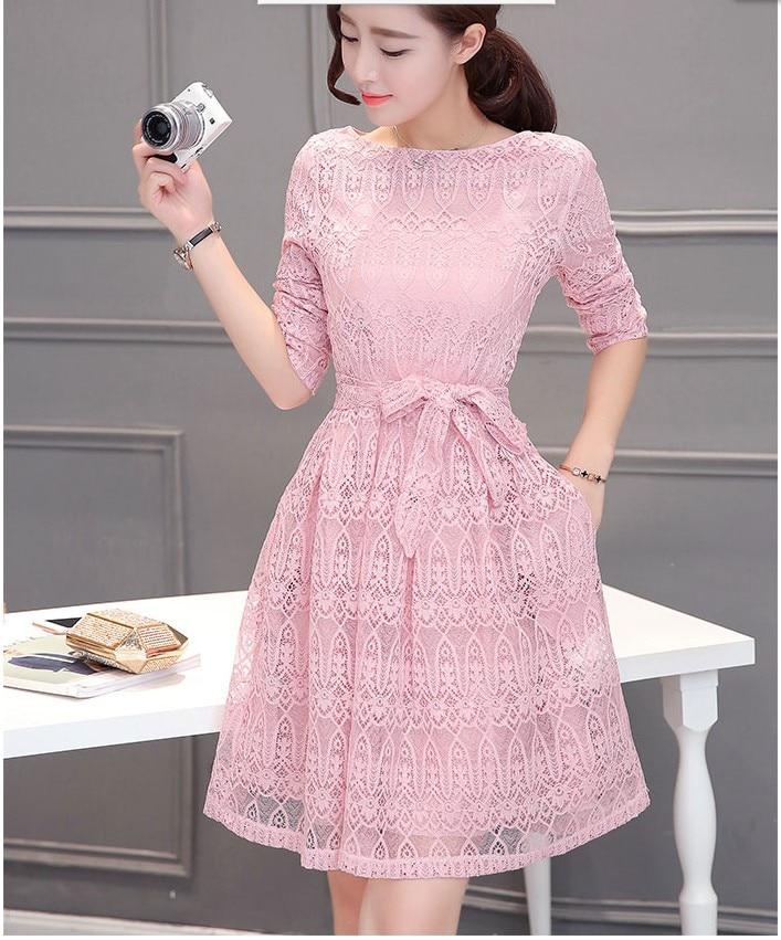 Spring dress korean style