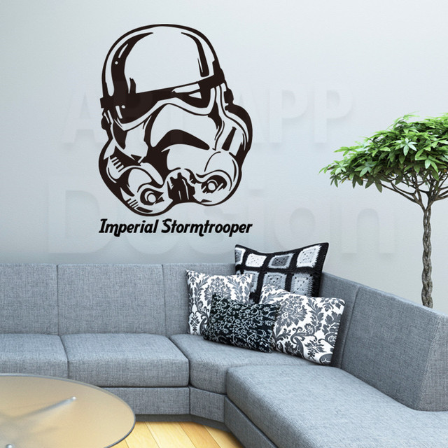 2016 New Design Art Home Decor Cheap Vinyl Imperial Stormtrooper