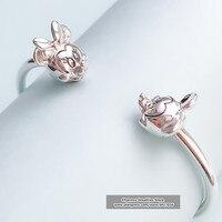 2019 Euro Charms logo Carving 925 bangle disneys charm bangles bracelet women jewelry gifts,1pz