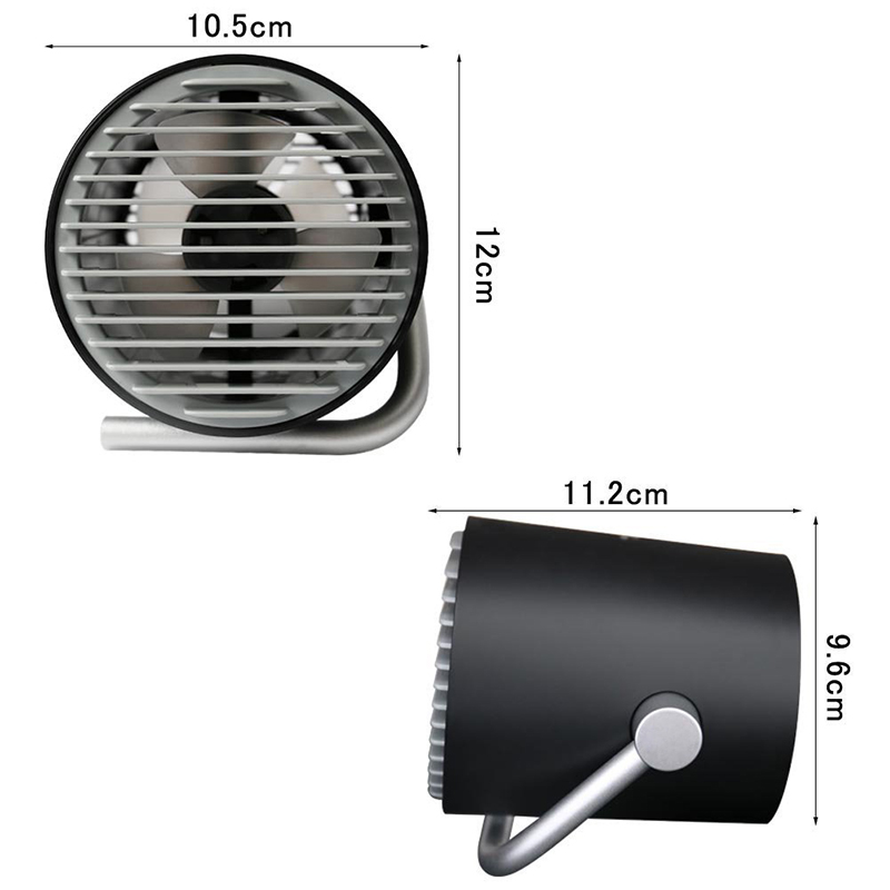 Touch Control USB Fan Cooler Portable Personal Flyer Mini Fan USB Gadgets Desk Fans Cooler For Office Gadget Home Office Travel