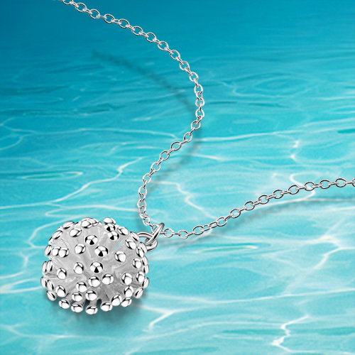 925 sterling silver pendant necklace fashion silver necklace;accessories;vintage style;pendant chain;