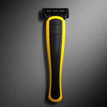 Многоразовый бритвенный станок Qshave Yellow Series 4