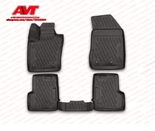 Коврики для джип Ренегат 2015-4 шт. резиновые коврики Нескользящие резиновые интерьерные автомобильные аксессуары для укладки