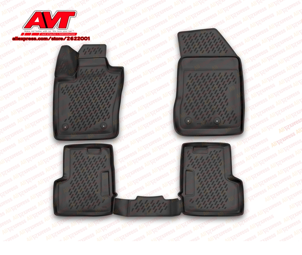 Floor mats case for Jeep Renegade 2015- 4 pcs rubber rugs non slip rubber interior car styling accessoriesFloor mats case for Jeep Renegade 2015- 4 pcs rubber rugs non slip rubber interior car styling accessories