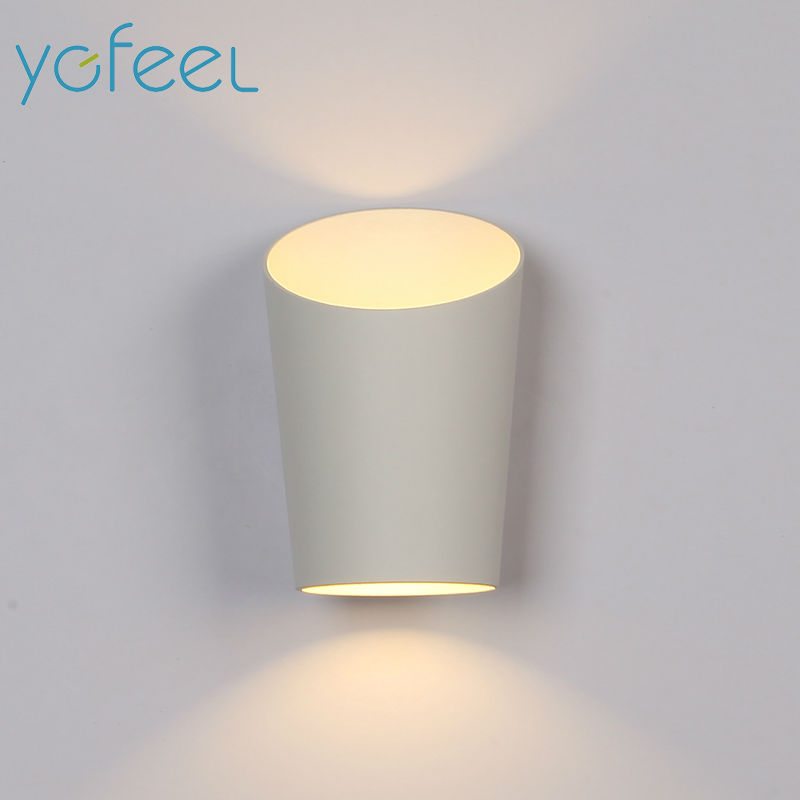 YGFEEL] 6 W LED Applique da parete Camera Da Letto Moderna Lampada ...