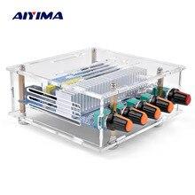 AIYIMA TPA3116 сабвуфер Bluetooth усилитель цифровая аудио Плата 2,1 канал Bluetooth 4,2 усилитель мощности плата 50Wx2+ 100 вт DIY