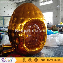 Golden color inflatable money booth money grabber catch running money game for promotion 2.2meters hign BG-A0675-7 toy