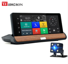 "Portable 3G 7 ""Car dvr Camera Android GPS Navigation Rear view car vehicle camera dvr video Recoder Bluetooth WIFI 16GB Navitel"