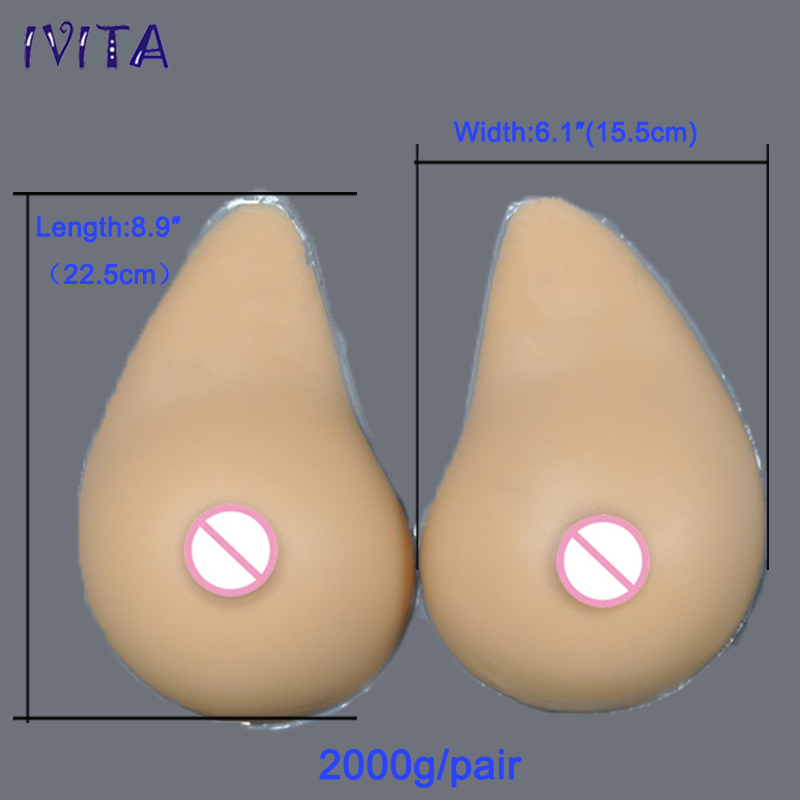 2000g/pair Sudan Crossdersser Realistic Silicone Artificial Breast Prosthesis Mastectomy Enhancer Fake Boobs Transvestite Forms  breast form mastectomy boob prosthesis silicone boobs with strap transvestite enhancer travesti fake breast dark beige 2000g