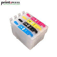 Refillable Ink Cartridge T0731-T0734 For Epson Stylus CX7300 CX8300 TX210 CX3900 CX4900 CX5600 CX5900 CX7310 printer T0731