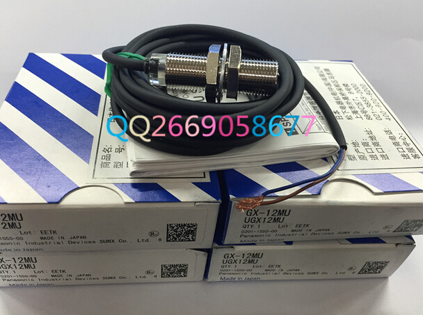 все цены на Photoelectric switch Digital sensor GX-12MU SUNX  proximity switch онлайн