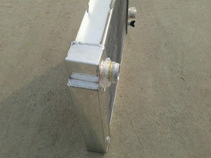 Горячая алюминиевый гоночный радиатор+ вентилятор для Pontiac Fiero 2.5L/2.8L I4/V6 1984-1988 1984 1985 1986 1987 1988