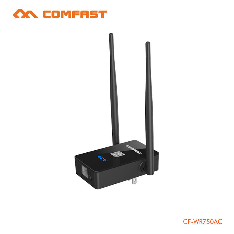 COMFAST 750Mbps WIFI Repeater signal amplifier 2.4G/5.8G Wireless Wi fi router repeater Extender Dual Band Roteador CF-WR750AC ce link 2020 hdmi repeater signal amplifier extender line driver 40 meters