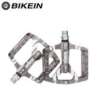 BIKEIN Cycling Ultralight Mountain Bicycle MTB Pedals BMX 3 Bearing CNC Aluminum Platform 9 16 Inch