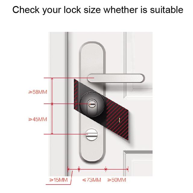 2018 New Sherlock S2 Electronic Intelligent Door Lock Smart Lock IOS/Android APP Control Home Keyless Lock