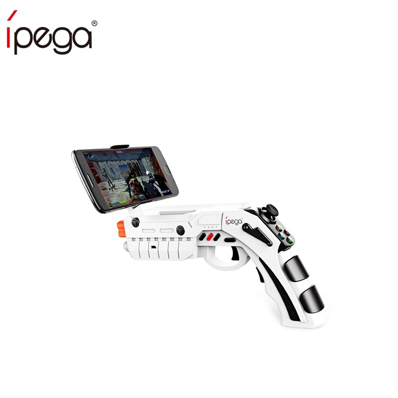 ipega pg 9082 bluetooth game gun ar gamepad wireless game pad for android smartphone support 4 6