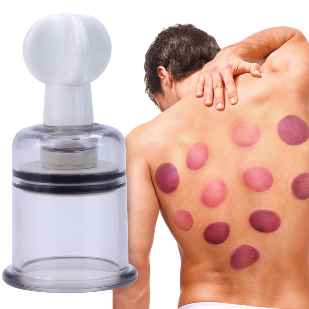 1Pcs Chinese Medicine Massage Vacuum Therap Body Cup Cupping+ Moxa Paste Detoxification Clearing Damp Muscle Relax Massager Cup 100g 10 1 moxa wool in massage