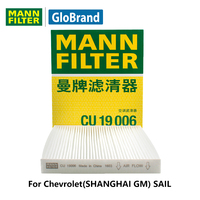 MannfilterカーキャビンフィルターCU19006用シボレー(上海gm)帆1.2l/1.4l自動車部