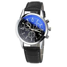 Sport Men Watches Luxury Fashion Sport Mens clock Casual Leather Mens Analog Watch Watches relogio masculino wrist watch amst(China)
