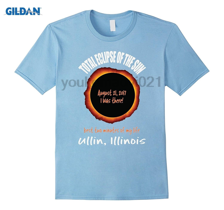 GILDAN Ullin, Illinois 2017 Eclipse Souvenir T Shirt