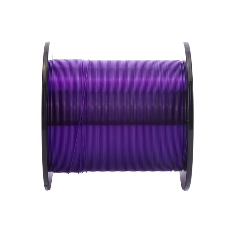 Fishing-Line Not-Fluorocarbon-Tackle Transparent Purple Nylon Super 500M 100-% title=