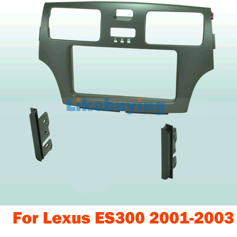 medium resolution of 2 din car frame dash kit for lexus es300 2001 2002 2003 for 178 100mm or 200 100mm size 2 din head unit size free shipping in fascias from automobiles