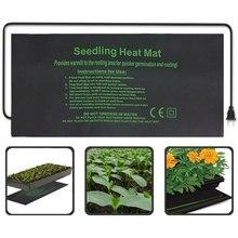 Нагревательный коврик для растений 24*52 см 52*52 см 121*52 см электрическое одеяло с цветком для рассады водонепроницаемое теплое прочное гидропонное грелка