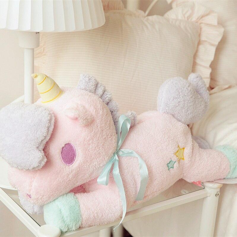 Gemini En Peluche pompage de tissu maison série licorne, licorne poupée oreiller, pompage de tissu de voiture, cadeaux d'anniversaire, cadeaux de noël