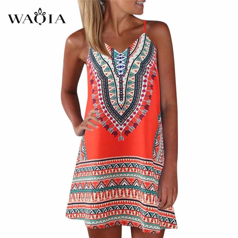 בתוספת גודל 3XL 2019 נשים קיץ חוף שמלות הדפסת צבע בלוק שרוולים שמלת אונליין מקסי שמלה קיצית שמלת Vestido Ropa Mujer