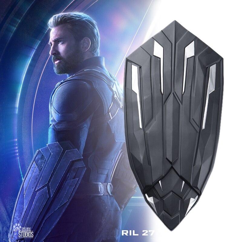 Avengers Infinity War Captain America Cosplay Prop Steven Rogers Shield New Weapons Vibranium