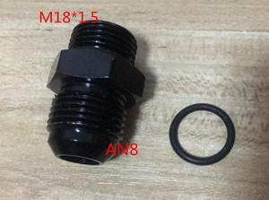 new male M18 P1.5 M18 * 1.5 M18*1.5 18*1.5 to 6an an6 an8 8an male adaptor adapter Fitting(China)