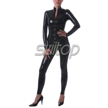 Customize high quality adult latex bodysuit catsuit latex catsuit Teddies Bodysuits SUITOP