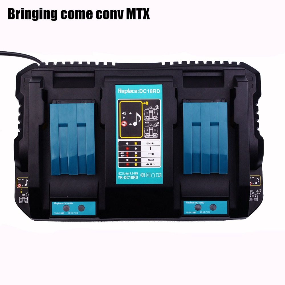LED light 18V Dual Battery Charger for Makita BL1860 BL1815 BL1830 BL1835 LXT 400 DC18RD   Makita 14.4V-18V with USB PortLED light 18V Dual Battery Charger for Makita BL1860 BL1815 BL1830 BL1835 LXT 400 DC18RD   Makita 14.4V-18V with USB Port